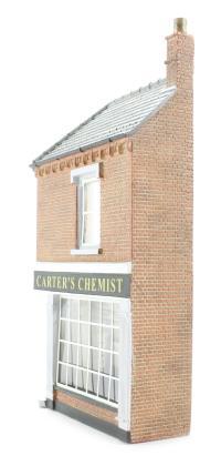 Bachmann Branchline 44-245 Low relief corner chemist (60 x 19 x 113mm)