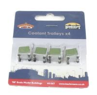 Bachmann Branchline 44-567 Coolant trolleys x 4