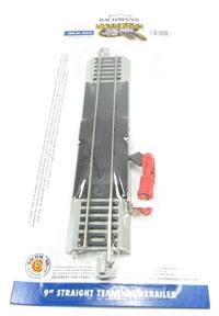 Bachmann USA 44510 9in. Straight Terminal Rerailer w/Wire (1/Card)