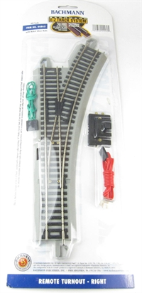 Bachmann USA 44562 Remote Turnout - Right (1/Card)