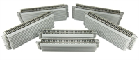 Bachmann USA 44581 50 x 9-inch lengths of straight track