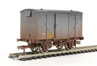 Dapol 4F-011-006 Ventilated van in LMS eggs livery - weathered