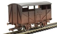 Dapol 4F-020-006 Cattle wagon B893375 BR - weathered