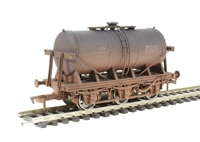 "Dapol 4F-031-006 6 wheel milk tanker ""MMB"" - weathered"