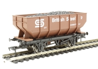 "Dapol 4F-034-100 21 ton hopper wagon ""British Steel #32"""