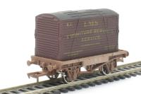 Dapol 4F-037-010 Conflat & Container LMS k.2. - weathered