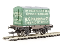 """Dapol 4F-037-100 Conflat wagon and container """"W C Harris"""""""