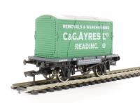 "Dapol 4F-037-104 Conflat wagon and container ""C & G Ayres"""
