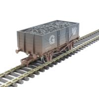 Dapol 4F-051-014 5 Plank Wagon GWR - weathered