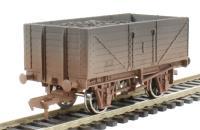 "Dapol 4F-071-004 7 plank wagon ""BR"" - weathered"