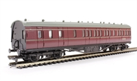 Dapol 4P-010-005 RTR 57ft Stanier brake coach in BR lined maroon