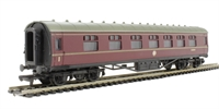 Dapol 4P-010-009 RTR 60ft Stanier corridor composite in BR lined maroon