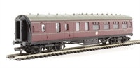 Dapol 4P-010-010 RTR 57ft Stanier corridor brake in BR lined maroon
