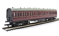 Dapol 4P-010-006 RTR 57ft Stanier composite in BR lined maroon