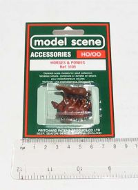 Peco Products 5105 Horses & Ponies