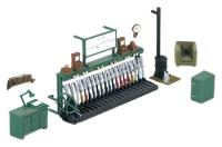 Ratio 553Ratio Signal Box Interior Kit (Unpainted)