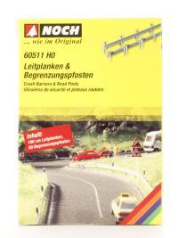 Noch 60511Noch Crash barriers 60 pylons 1m long