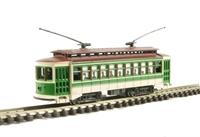 Bachmann USA 61093 Brill trolley car in green (motorised)