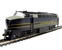 "Bachmann USA 61804 American Baldwin RF-16 Shark A unit diesel loco in ""Baltimore & Ohio"" blue & grey livery (DCC on board)"