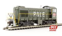Bachmann USA 63208 ALCO S4 Diesel New York Central P&LE #8663 (DCC Sound)