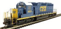 Bachmann USA 67018 EMD SD40-2 Diesel Locomotive CSX #8833 Dark Future