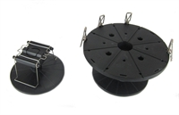 Tamiya 74522 Paint Stand Set with Turntable & Clips for Airbrush or Paintbrush Finished Models