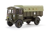 "Oxford Diecast 76AEC008 AEC Matador Artillery Tractor British Army ""Mickey Mouse"""