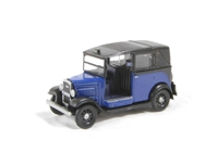 Oxford Diecast 76AT002 Austin Low loader Taxi in Oxford blue