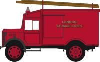 Oxford Diecast 76ATV006 Austin ATV 'London Salvage Corps'