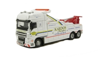 "Oxford Diecast 76DAF02REC DAF 105 (SS) Boniface Recovery Vehicle ""Kardos Recovery"" Ltd ed of 2000"