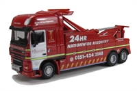 "Oxford Diecast 76DAF03REC DAF 105 ""Hough Green Recovery"""