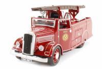 """Oxford Diecast 76DL4002 Dennis Light 4 """"New world"""" Fire Engine LMS Crewe"""