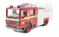Oxford Diecast 76DN005 Dennis RS Fire Engine Nottinghamshire Fire Brigade