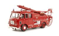 "Oxford Diecast 76F106001 Dennis F106 Side Pump ""London Fire Brigade"""