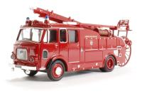Oxford Diecast 76F106002 Dennis F106 Rear Pump London Fire Brigade
