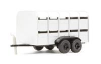 Oxford Diecast 76FARM001 Livestock trailer from 76SET12 triple set