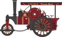 Oxford Diecast 76FSR003 Fowler Road Roller Fippenny Queen/A W Field