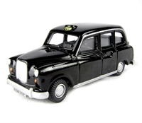 Oxford Diecast 76FX4001 FX4 London Taxi in black
