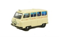 "Oxford Diecast 76JM019 Morris J2 Ambulance ""British Railways"""
