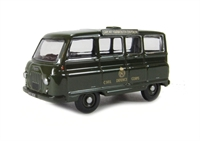 "Oxford Diecast 76JM021 Morris J2 Minibus ""Civil Defence""."