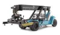 Oxford Diecast 76KRS001 Konecranes Reach Stacker (for freight containers) in Konecranes blue. Fully posable