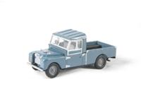 "Oxford Diecast 76LAN1109002 Land Rover Series 1 109"" open in blue"