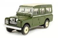 Oxford Diecast 76LAN2002 Land Rover Series II Station Wagon in Bronze green