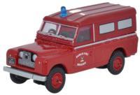 Oxford Diecast 76LAN2008 Land Rover Series II Dublin Fire Brigade