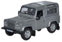 Oxford Diecast 76LRDF003 Land Rover Defender 90 Station Wagon Orkney Grey