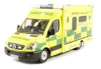 Oxford Diecast 76MA001 Mercedes Sprinter 515 CDi Modern Ambulance - Welsh (no longer London)