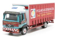 Oxford Diecast 76MAN001 MAN L2000 Curtainside Pollock