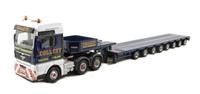 """Oxford Diecast 76MAN02LL MAN TGX XXL Low Loader """"Collett Transport"""". Production run of 2000"""