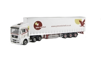 "Oxford Diecast 76MAN04CS MAN TGX XXL Curtainside ""John Mitchell"". Production run of 2000"