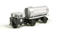 "Oxford Diecast 76MH013 Mechanical Horse Tank Trailer ""Mackeson"""